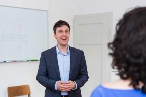 Roman Jaburek, Referent bei Forum Delta
