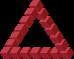 Forum Delta Logo: Unmögliches Dreieck